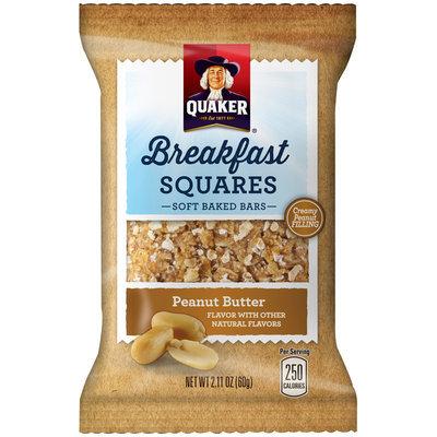 Quaker® Breakfast Squares Peanut Butter 2.11 oz. Bar