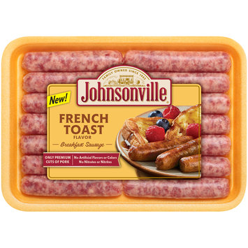 Johnsonville French Toast Flavored Breakfast Sausage 12oz tray
