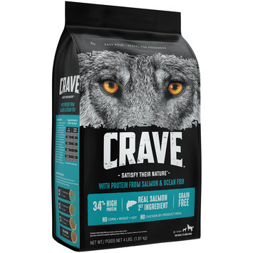 Crave™ with Protein from Salmon & Ocean Fish Premium Dog Food 4 lb. Bag