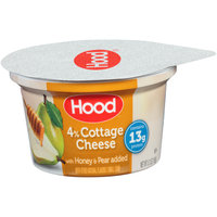 Hood® 4% Small Curd Cottage Cheese with Honey & Pear Added 5.3 oz. Cup