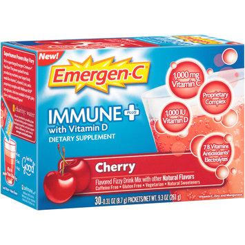 Emergen-C® Immune Plus® Cherry Dietary Supplement with Vitamin D 30-0.31 oz. Packets