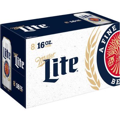 Miller Lite® Beer 8-16 fl. oz. Cans