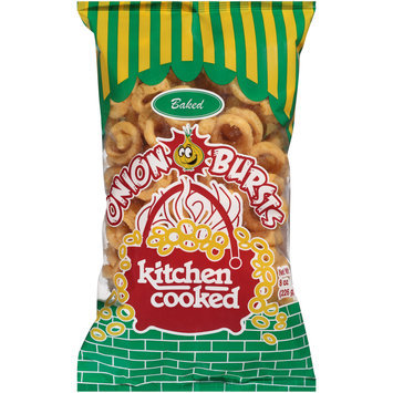 Kitchen Cooked Baked Onion Bursts 8 oz. Bag