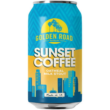 Golden Road Brewing Sunset Coffee Oatmeal Milk Stout 12 fl. oz. Can