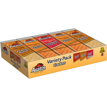 Austin® Variety Pack™ Crackers 10-1.38 oz. Packages