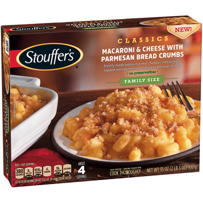 Stouffer's Macaroni & Cheese With Parmesan Bread Crumbs Classics
