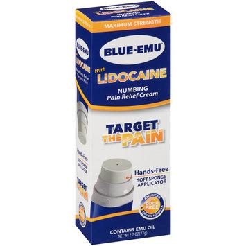 Blue-Emu® with Lidocaine Maximum Strength Numbing Pain Relief Cream 2.7 oz. Box