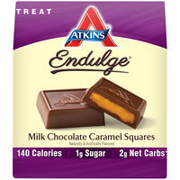 Atkins® Endulge® Milk Chocolate Caramel Squares 6 oz.