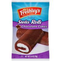 Mrs. Freshley's® Swiss Rolls Chocolate Cakes 2.8 oz Wrapper