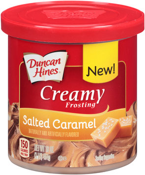 Duncan Hines® Creamy Salted Caramel Frosting 16 oz. Box