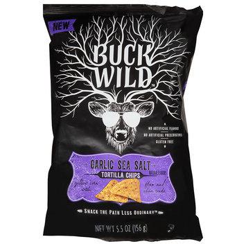 Buck Wild™ Garlic Sea Salt Tortilla Chips 5.5 oz. Bag