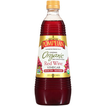 Pompeian® Organic Red Wine Vinegar with the
