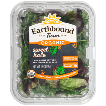 Earthbound Farm® Organic Sweet Kale 4 oz. Clamshell