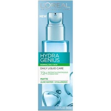 L'Oreal Paris Hydra Genius Normal/Oily Skin Daily Liquid Care 3.04 fl. oz. Box