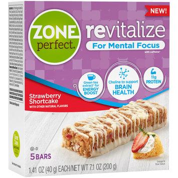 Zone Perfect® Revitalize Strawberry Shortcake Nutrition Bars 5-1.41 oz. Bars