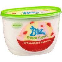 Blue Bunny Frozen Yogurt Strawberry Banana
