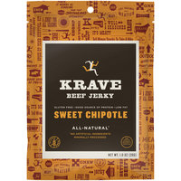 Krave Sweet Chipotle Beef Jerky 1 oz. Bag