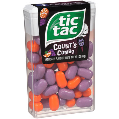 Tic Tac® Count's Combo Mints 1 oz. Container