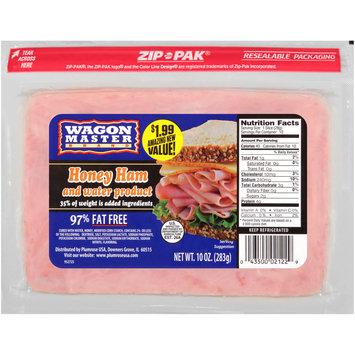 Wagon Master Brand Honey Ham and Water Product 10 oz. ZIP-PAK®