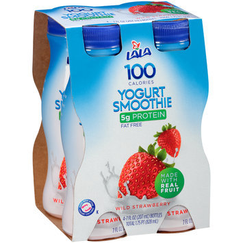 LALA® 100 Calorie Wild Strawberry Yogurt Smoothie