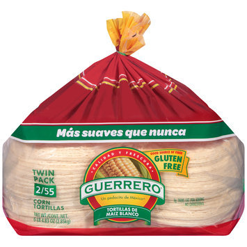 Guerrero® White Corn Tortillas 110 ct Bag