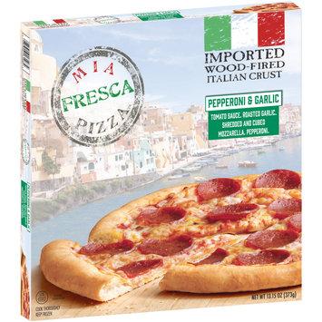 Mia Fresca Pizza™ Pepperoni & Garlic Pizza 13.15 oz. Box