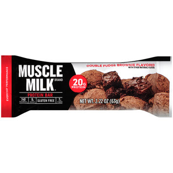 Muscle Milk® Double Fudge Brownie Flavored Protein Bar 2.22 oz. Wrapper