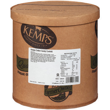 Kemps® Cotton Candy Confetti Ice Cream 3 gal. Tub