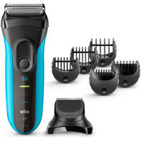 3Series Braun Series 3 Shave&Style 3010BT 3-in-1 Shaver with precision trimmer & 5 comb attachments
