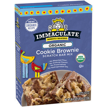 Immaculate™ Organic Cookie Brownie Scratch Bar Mix 18.4 oz. Box