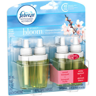 Noticeables Febreze NOTICEables First Bloom Dual Oil Refills Air Freshener (2 Count, 1.75 oz)