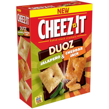 Cheez-It Duoz® Jalapeno & Cheddar Jack Baked Snack Crackers 12.4 oz. Box