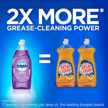 Ultra Dawn Escapes Dishwashing Liquid Dish Soap Mediterrean Lavender 28 oz