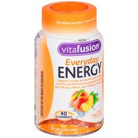 Vitafusion™ Everyday Energy Peach Tea Flavor Adult Gummy Dietary Supplement 40 ct Bottle