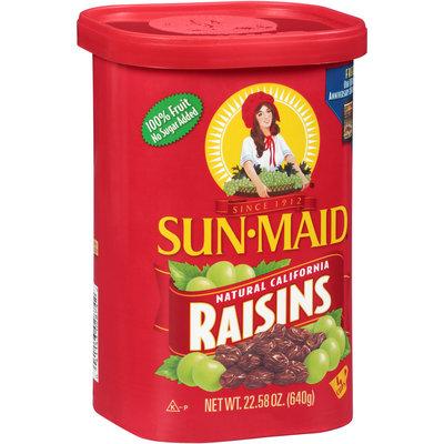 Sun-Maid® Natural California Raisins 22.58 oz. Canister