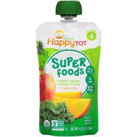 Happy Tot® Organics Super Foods Apples, Mangos & Kale + Super Chia Fruit & Veggie Blend 4.22 oz. Pouch