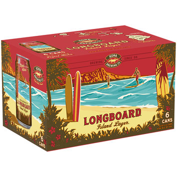 Kona Brewing Co.® Longboard® Island Lager® Beer 6-12 fl. oz. Box
