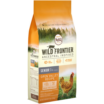 Nutro™ Wild Frontier™ Ancestral Inspired Open Valley Recipe Senior Cat Food 5 lb. Bag