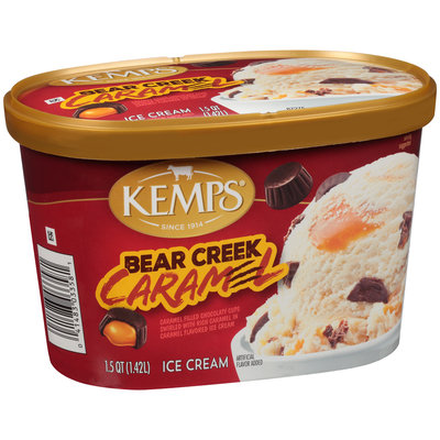 Kemps® Bear Creek Caramel Ice Cream 1.5 qt. Tub