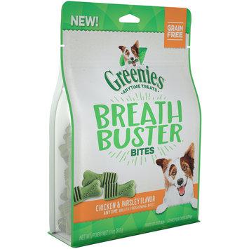 Greenies™ Breath Buster™ Bites Chicken & Parsley Flavor Dog Treats 11 oz. Pouch