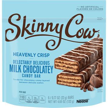 SKINNY COW Milk Chocolate HEAVENLY CRISP Candy Bar 6-0.77 oz. Packs