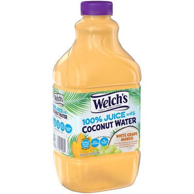 Welch's® White Grape Mango 100% Juice with Coconut Water 64 fl. oz. Bottle