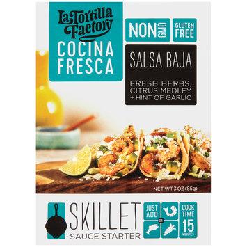 La Tortilla Factory Cocina Fresca Salsa Baja Skillet Sauce Starter 3 oz. Packet
