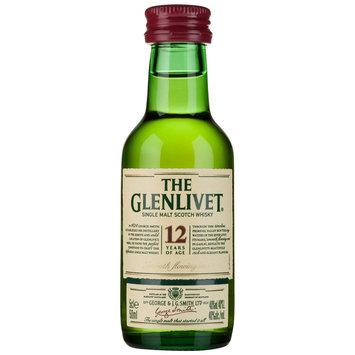 The Glenlivet® Single Malt Whisky Scotland 12 Yo 50ml Bottle