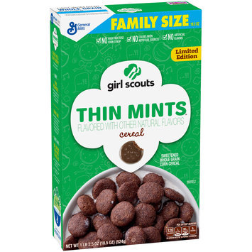 Girl Scouts® Limited Edition Thin Mints® Cereal 18.5 oz. Box