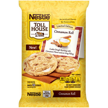 Nestle TOLL HOUSE Cinnamon Roll Cookie Dough 16 oz. Bar