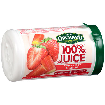 Old Orchard® 100% Juice Strawberry Rhubarb Juice Concentrate 12 fl. oz. Cylinder