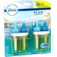 Plug Febreze PLUG Air Freshener Refills Bora Bora Waters (2 Count, 1.75 oz)