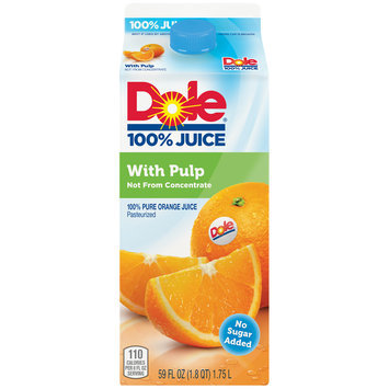 Dole® With Pulp Orange Juice 59 fl. oz. Carton