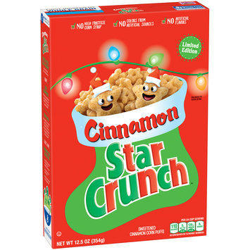 Limited Edition Cinnamon Star Crunch™ Cereal 12.5 oz. Box